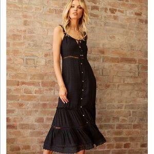 Bohemian black dress never worn